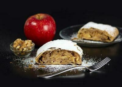 Apple Walnut Raisin Strudel