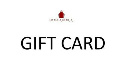 Little Austria Gift Card