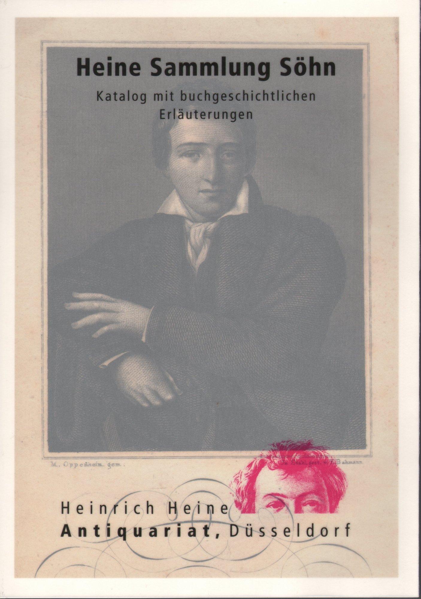 Katalog der Heinrich Heine Sammlung Söhn (HSS). a300102229