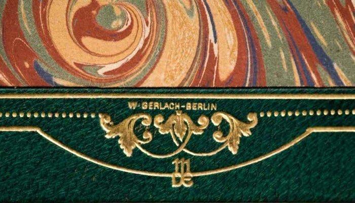 Das Buch als Gesamtkunstwerk (Walter Gerlach) I.