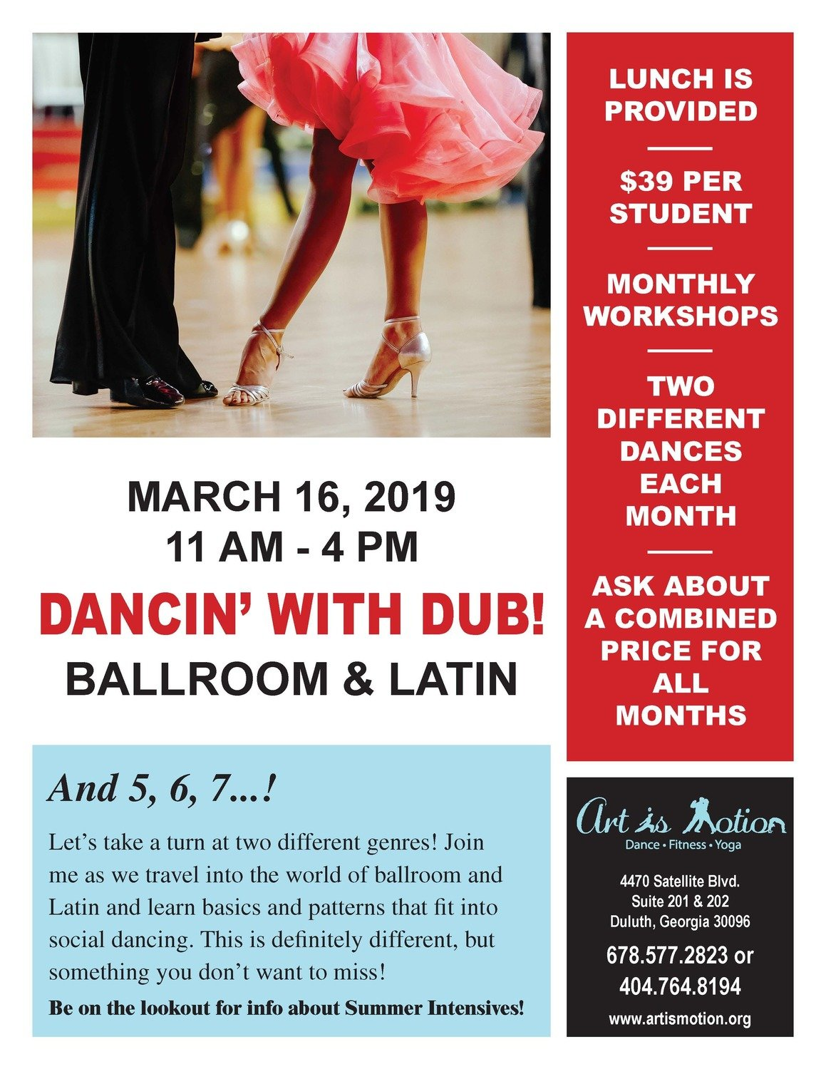 Dance Workshop - Ballroom & Latin Dance