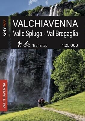 Mappa Valchiavenna Val Bregaglia