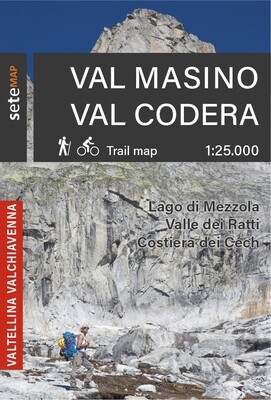 Mappa Val Masino Val Codera