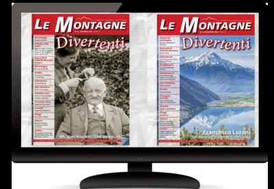 Arretrati Digitali della rivista Le Montagne Divertenti