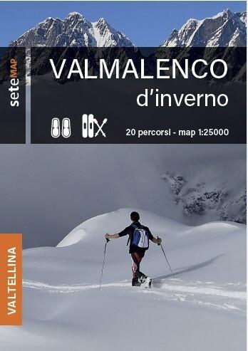 Mappa Valmalenco d'inverno