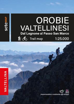 Mappa valli del Bitto di Gerola e Albaredo, val Lesina