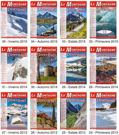 Arretrati della rivista Le Montagne Divertenti