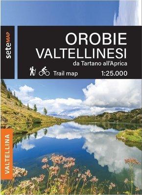 Mappa Orobie Valtellinesi da Tartano all'Aprica