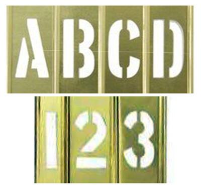 """1/2"""" - 12.7mm Interlocking Stencils"""