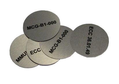 50 of 50mm Radius Dye Sublimated Discs