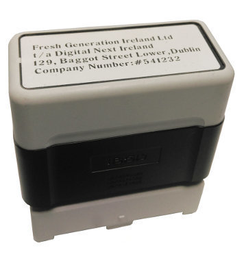 18/50 mm Self Inking Stamp
