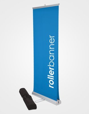 Double Sided Roller Banner (Adhesive Top)