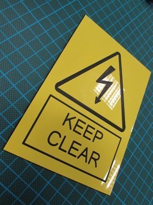300 of 3mm engraved laminate 200 x 100mm  labels (€9.55 each)