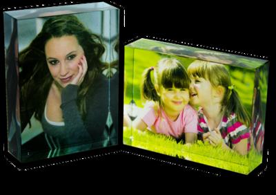 Medium Digitally printed Acrylic blocks