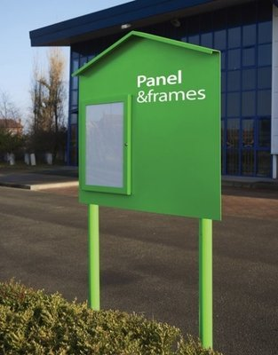 Panel and Frames (Panel only and 2 Poles option )