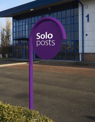 Solo Posts (Panel with pole)