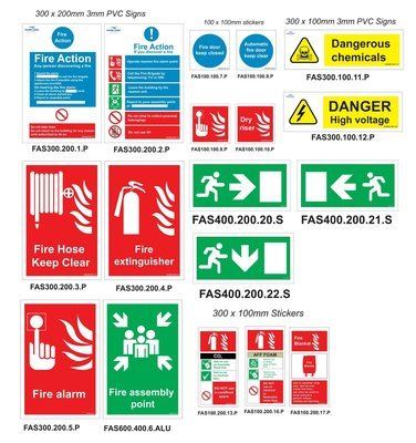 School Safety Sign Pack