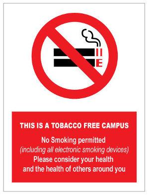 300 x 400mm No Smoking / Vaping Sign