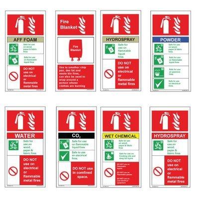 100 x 200mm Fire equipment sign