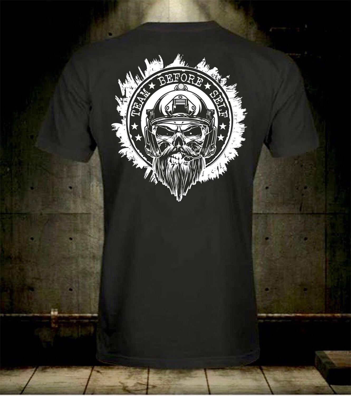 TBS Bearded Dude White Out Logo T-Shirt