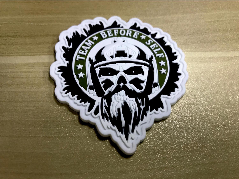 "TBS 3"" PVC Bearded Dude Patch"
