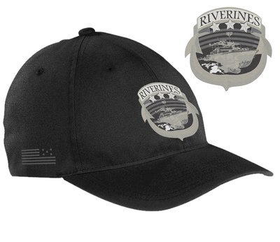 SZ6 Riverine Brushed Twill Cap by Flexfit