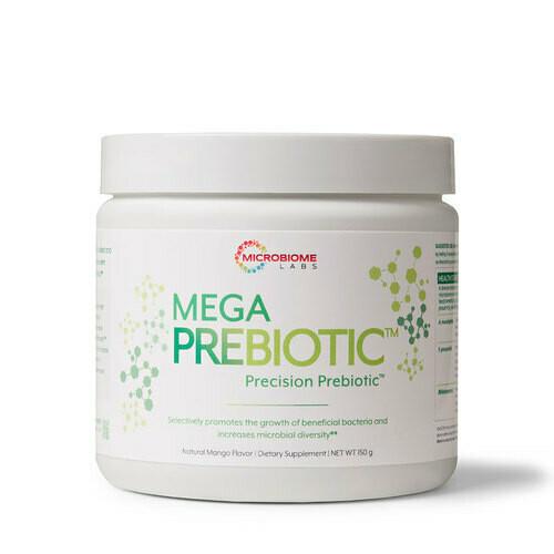 פרה-ביוטיקה סלקטיבית | Mega PreBiotic - Microbiome Labs