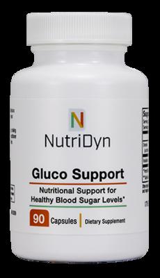 גלוקו ספורט - מינרלים התומכים באיזון סוכר טבעי  | Gluco Support 90c NutriDyn