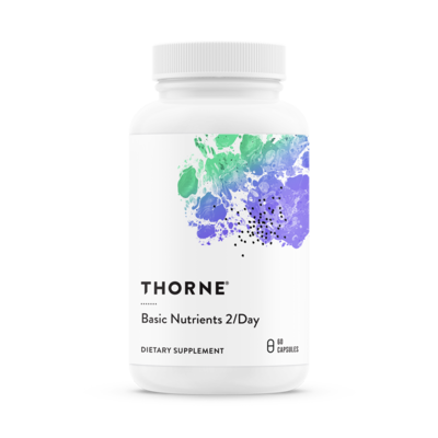 Basic Nutrients 2/Day 60c - Thorne Research