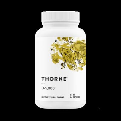 D3 5000iu 60vc - Thorne Research