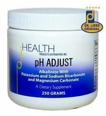 סותר החומציות | PH ADJUST - Health Products Distributors