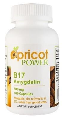 B17 Amigdalin 500mg 100vc - Apricot Power