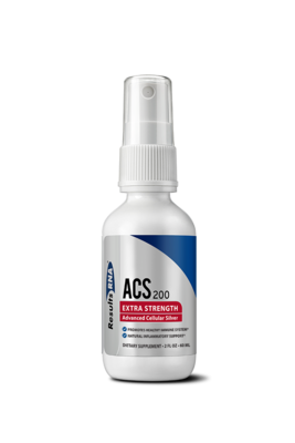 ACS200 Extra Strength - תרסיס כסף אנטיבקטריאלי מוביל מחקרית | ACS200 Extra Strength 2oz - ResultsRNA