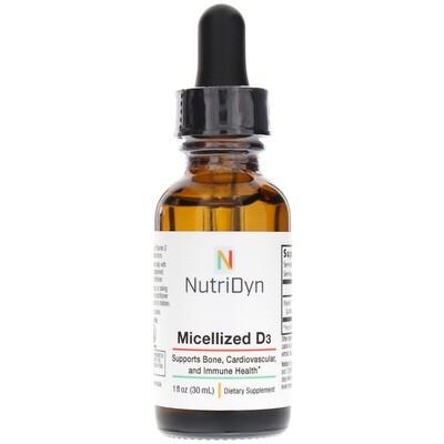 ויטמין D3 מרוכז מסיס מים בספיגה גבוהה - 30 מ