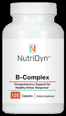 B  קומפלקס פעיל - 120 כמוסות | B-complex 120 capsules - Nutridyn