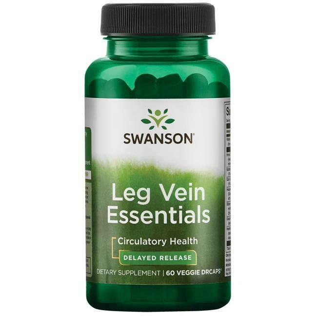 Leg Vein Essentials, 60sg - Swanson Vitamins
