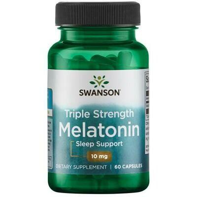 מלטונין בחוזק משולש - 10 מ