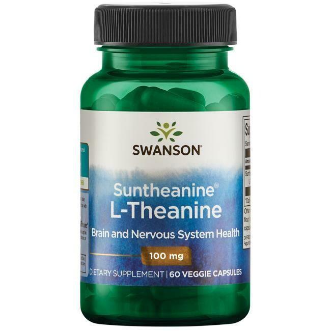 L-Theanine 60vc 100mg - Swanson Vitamins