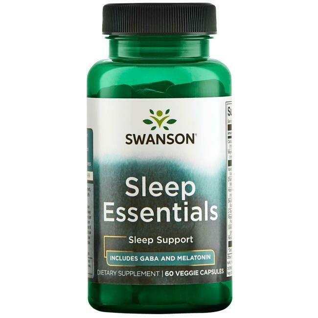 Sleep Essentials 60vc - Swanson Vitamins