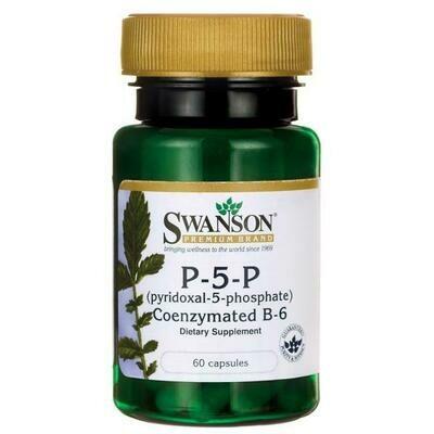 P-5-P Pyridoxal-5-Phosphate 40mg 60c - Swanson