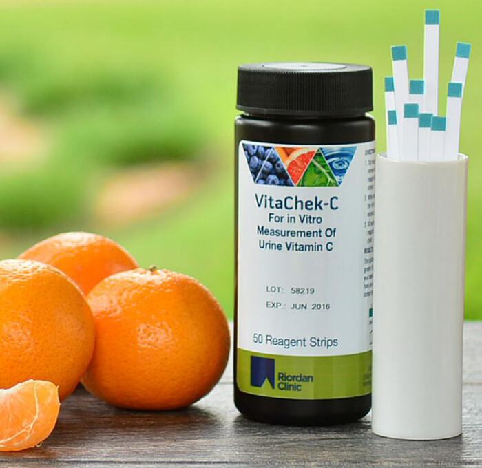 מקלוני בדיקת רמות ויטמין C בשתן VitaCheck-C