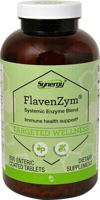 פלבאנזים- תערובת אנזימים מערכתית | FlavenZym 800t - Vitacost