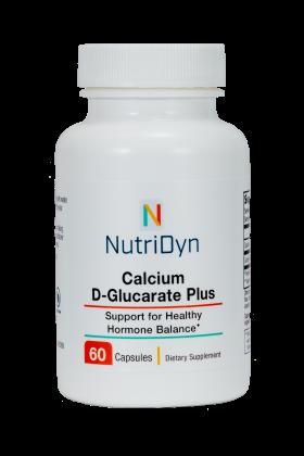 תמיכה באיזון הורמונלי בריא | Calcium D-Glucarate 60c 600mg - Nutridyn