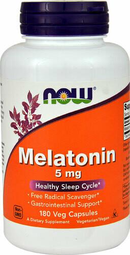 Melatonin 5mg 180vc - Now
