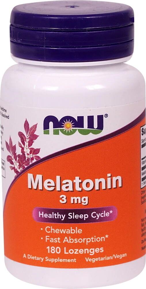 Melatonin 3mg 180t chewable - Now