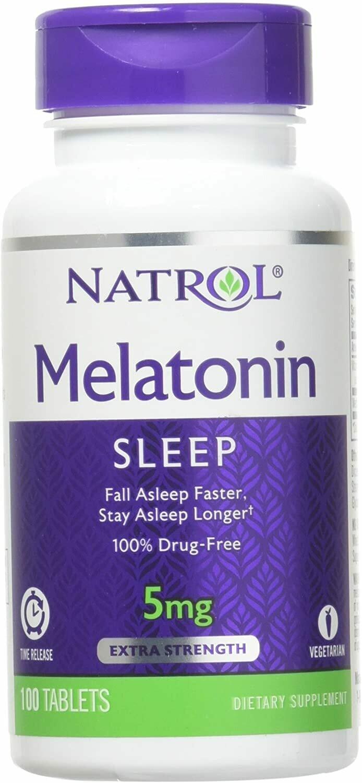 Melatonin Time Release 5mg - Natrol