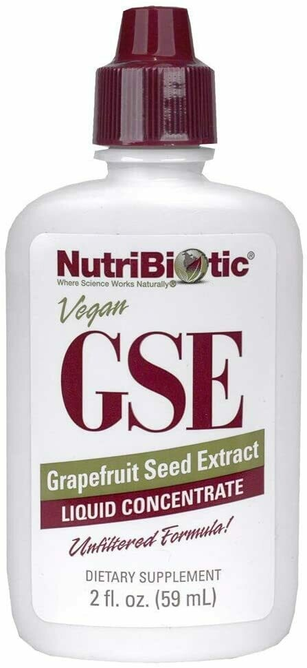 תמצית זרעי אשכוליות | GSE, Grapefruit Seed Extract, Liquid Concentrate, 2 fl oz (59 ml