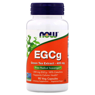 EGCg 400mg 90c - NOW