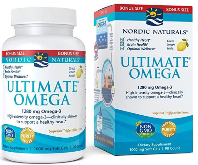 Ultimate Omega 1,200 mg Omega 3 90c