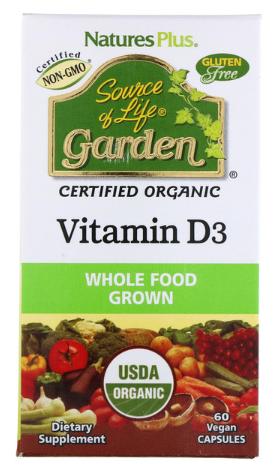 Vitamin D3 2,500IU 60c